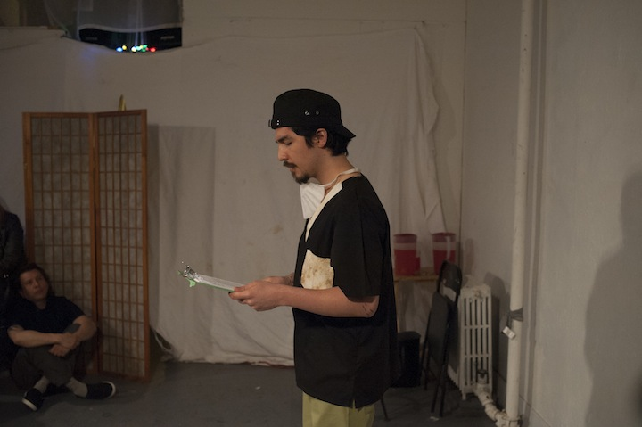 PERFORMEANDO at Panoply Performance Laboratory, Brooklyn<br>© Andrew Williams 2013