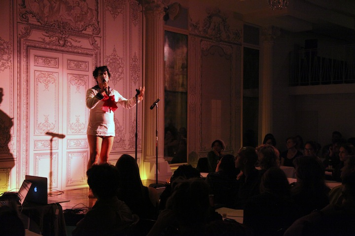 SUBMERGE at Bowery Poetry Club<br>© Marika Kent 2013