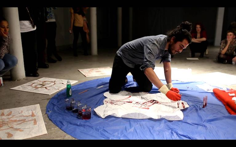 <em>Limpieza de Sangre</em><br>Video still © Zoraya Lua 2015